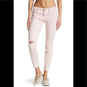 Current/Elliot The Stiletto Jean Forever Pink